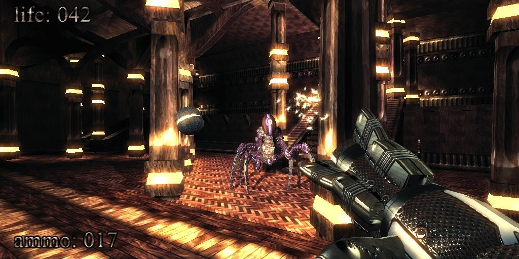 Game First Person Shooter 3D Ini Ukurannya Cuma 96 Kilobytes!