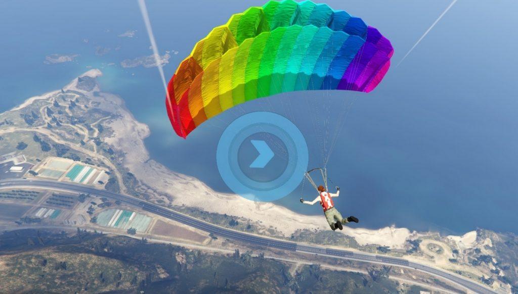 GTA Online Parachuting