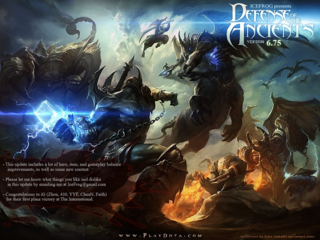 Dota Allstars Loading Screen