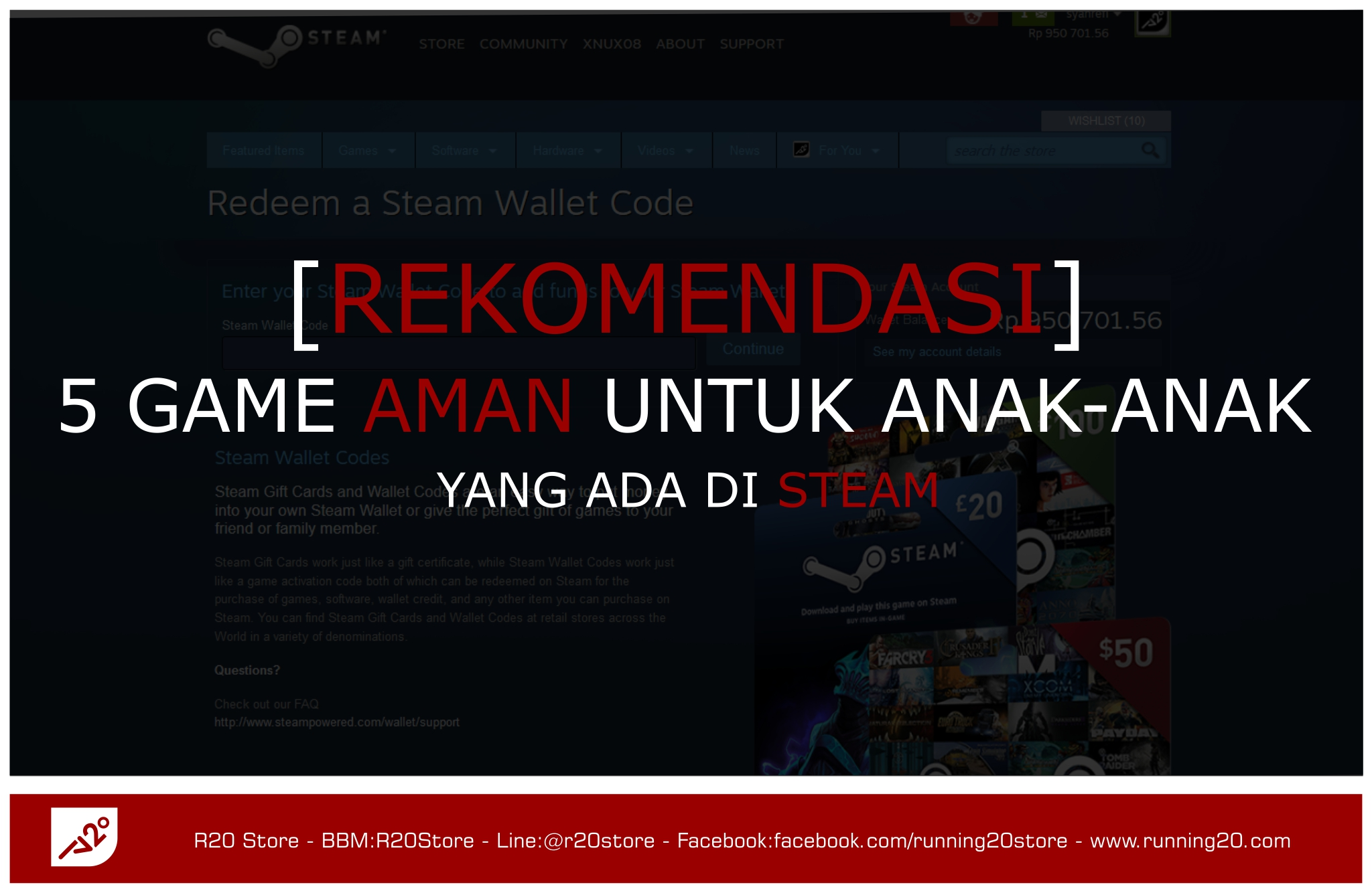 5 Game Anak-anak di Steam, Rekomendasi Running20