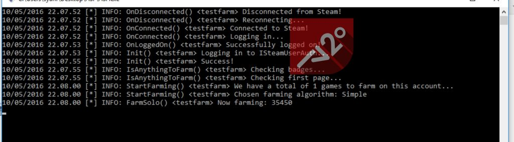 ArchiSteamFarm is Working