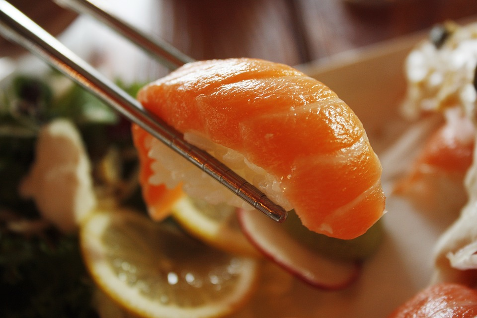Salmon Sushi for Gamer