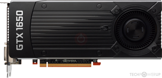 Graphic Card paling populer NVIDIA GeForce GTX 1650 (2,99%)