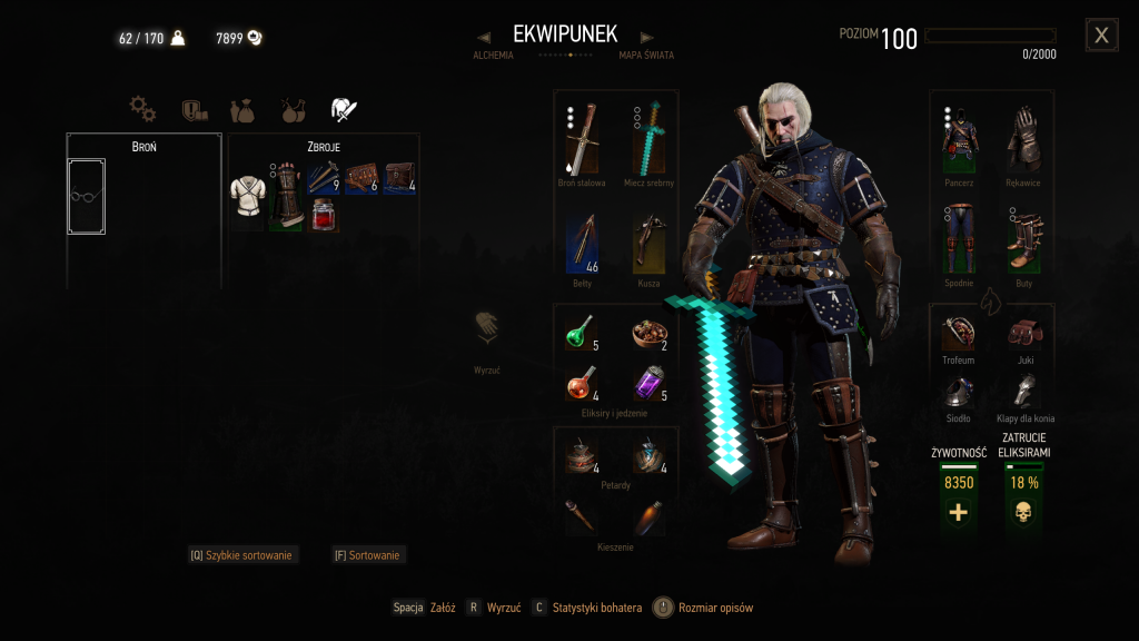 Witcher 3 Mod Minecraft