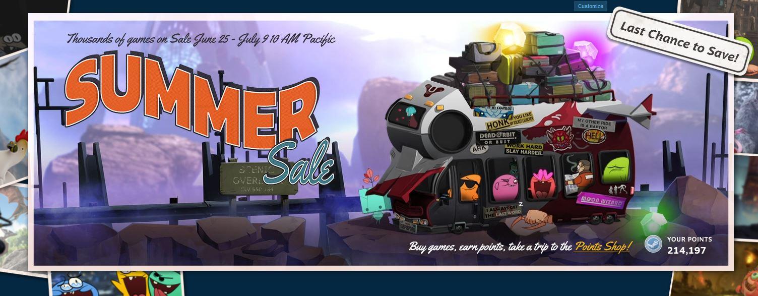 Steam Summer Sale 2020 Berakhir Malam Ini