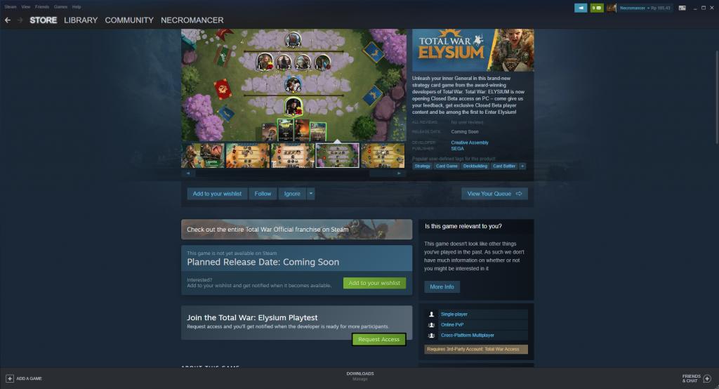 Feature Baru Steam