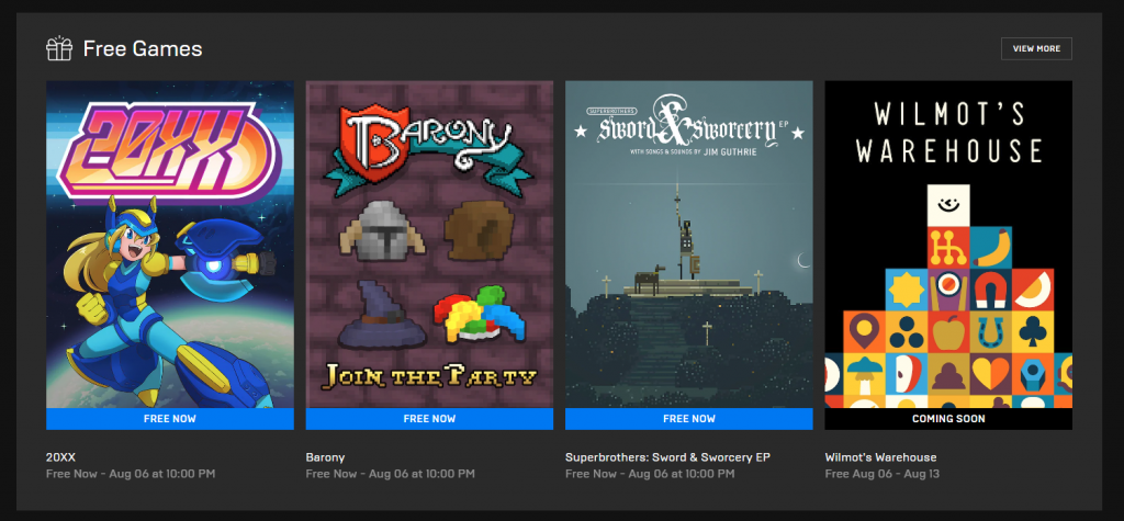 Feature Baru Epic Games Store - Game Gratis