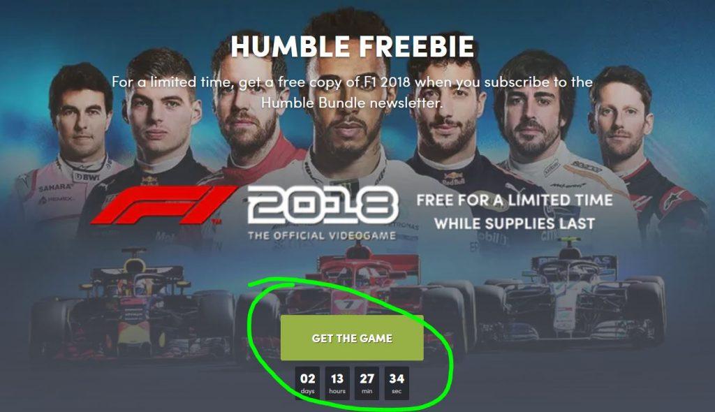 F1 2018 Steam Gratis