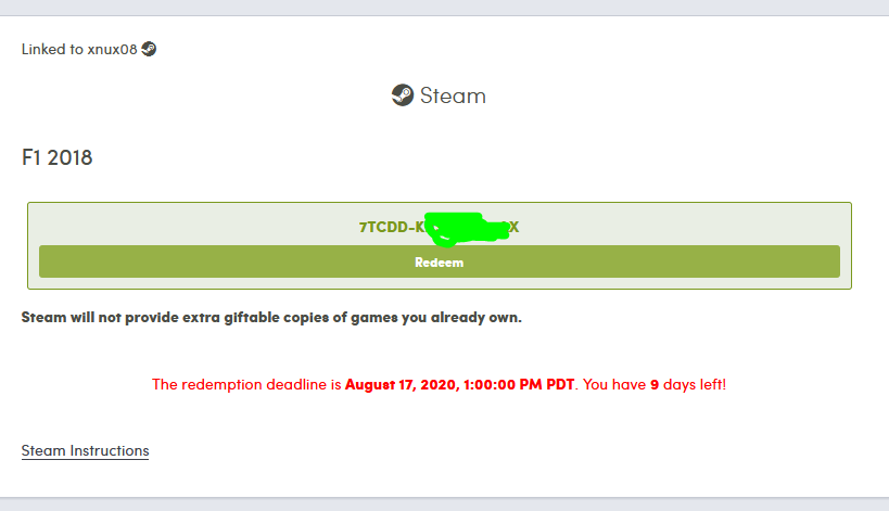 Humble Bundle Redeem Steam Key